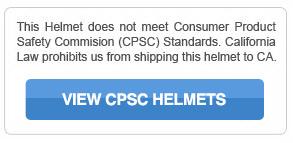 NON-CPSC Certified Helmet