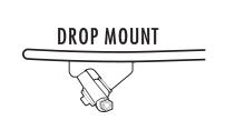 Drop Mount Longboard Trucks
