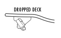Dropped Deck Longboard Trucks