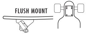 Flush Mount Longboard Trucks