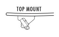 Top Mount Longboard Trucks