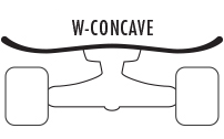 W Concave Longboards