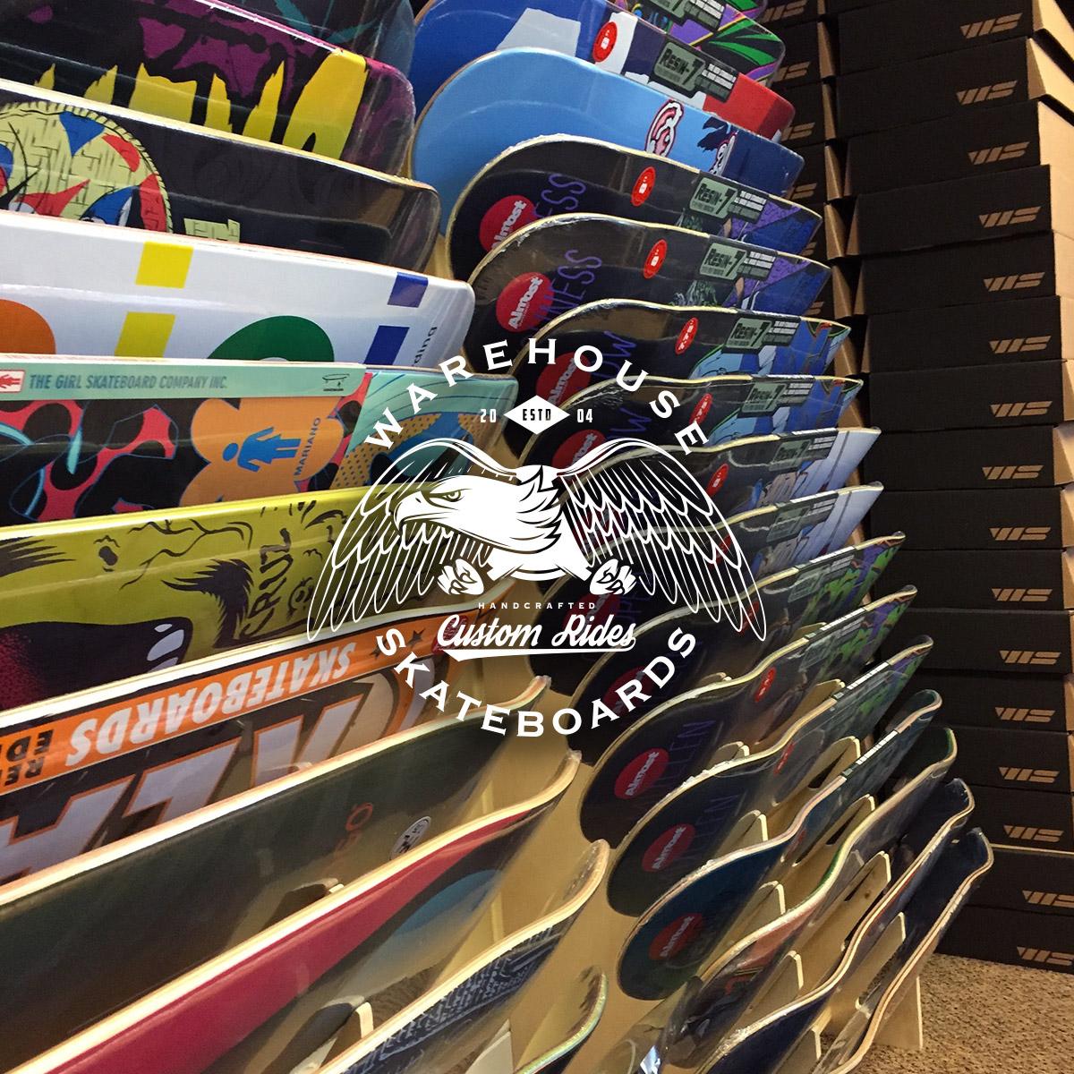 Skateboard deck buying guide warehouse skateboards baanklon Gallery