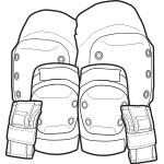 Skateboard Pads, Knee Pads, Elbow Pads, Wrist Guards, Pad Sets