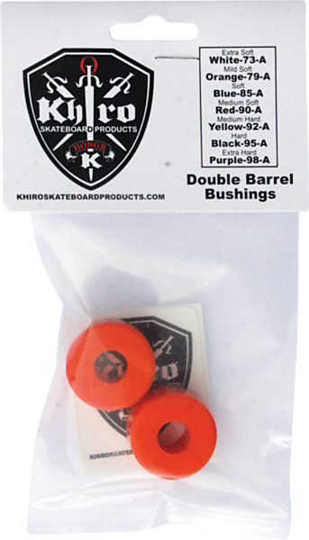 Khiro Double Barrel Mid Soft Bushings