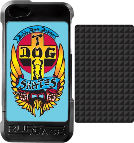 Ruffcase Dogtown Bull Dog / Carbon iPhone 5 Case