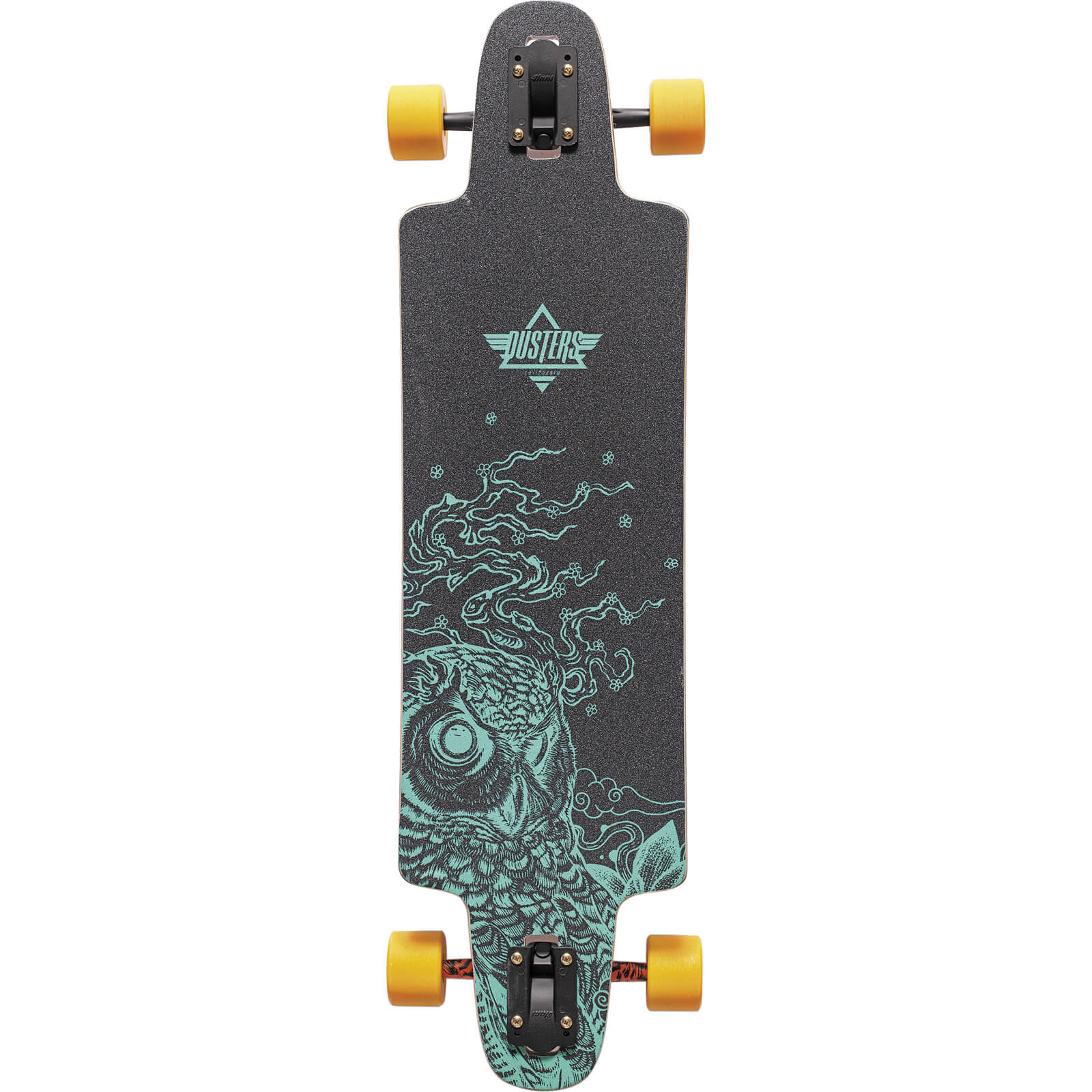 Dusters California Skateboards Drop Thru Regrowth Complete