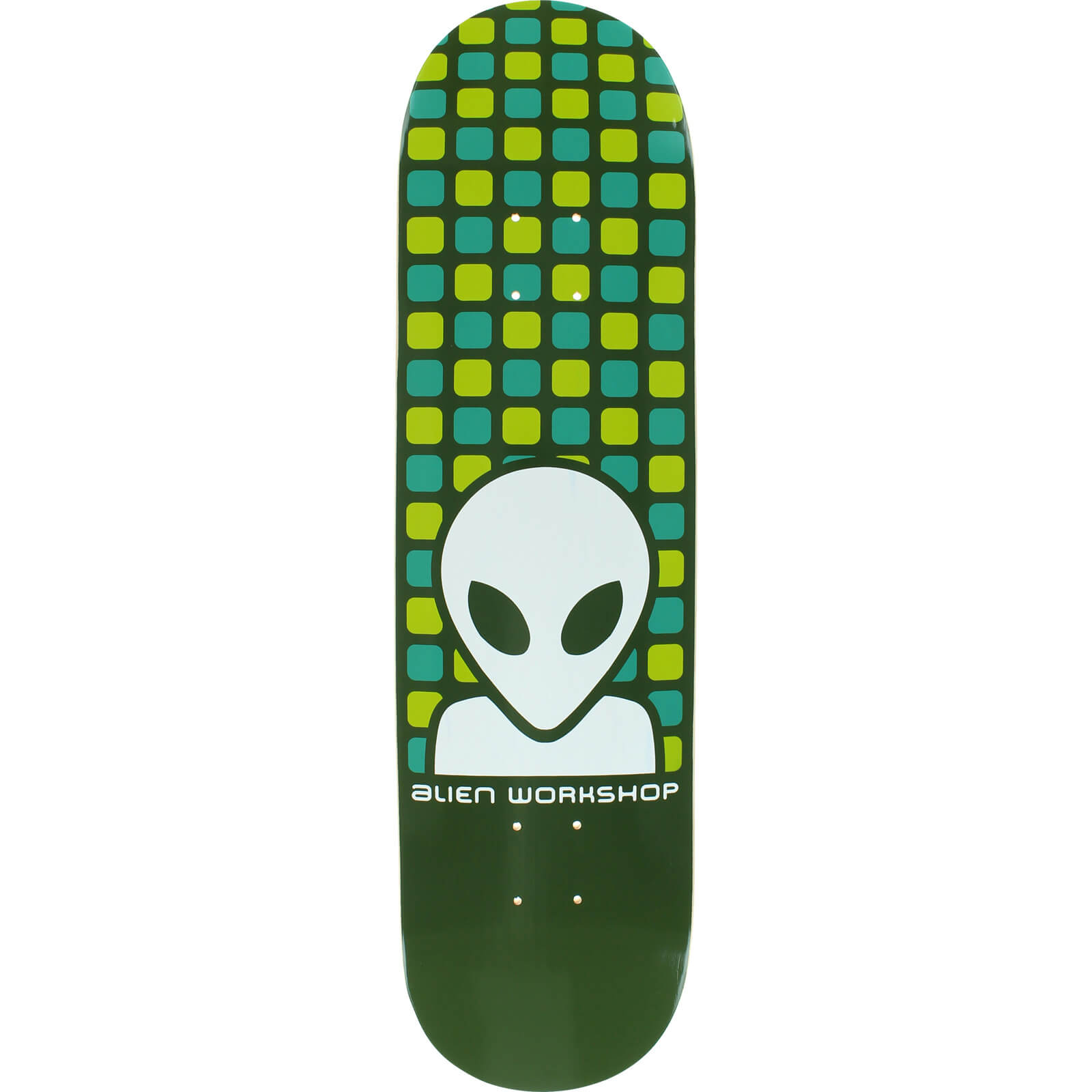 "Alien Workshop Matrix Green Skateboard Deck - 8.25"" x 31 ..."