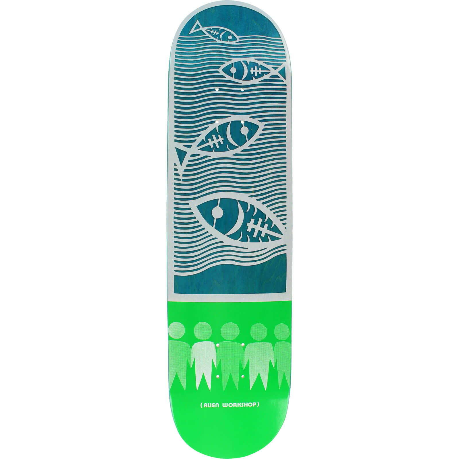 Alien Workshop Skateboards Paper Cuts Water Deck