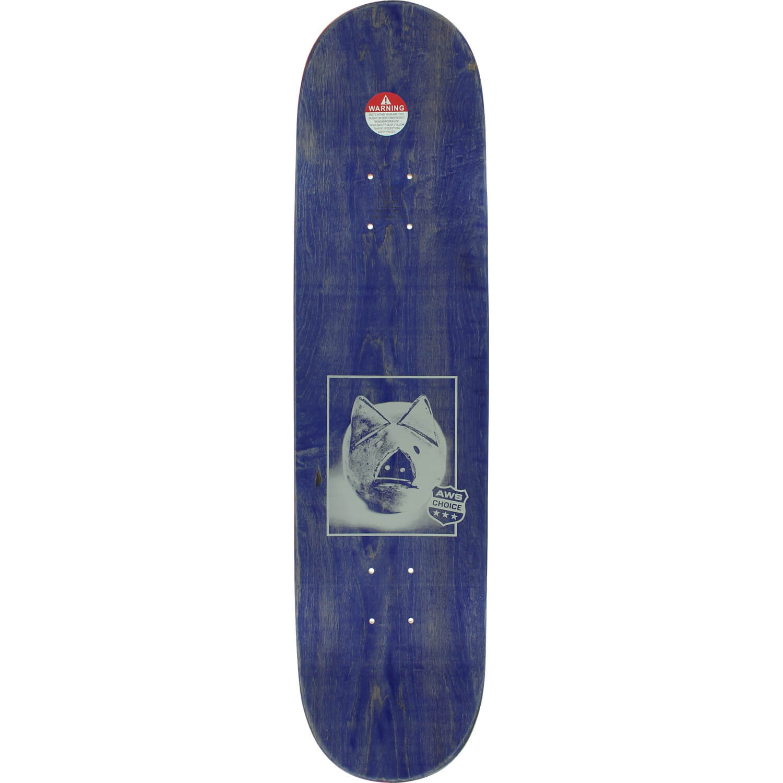 Alien Workshop Skateboards Piggy Md White Green