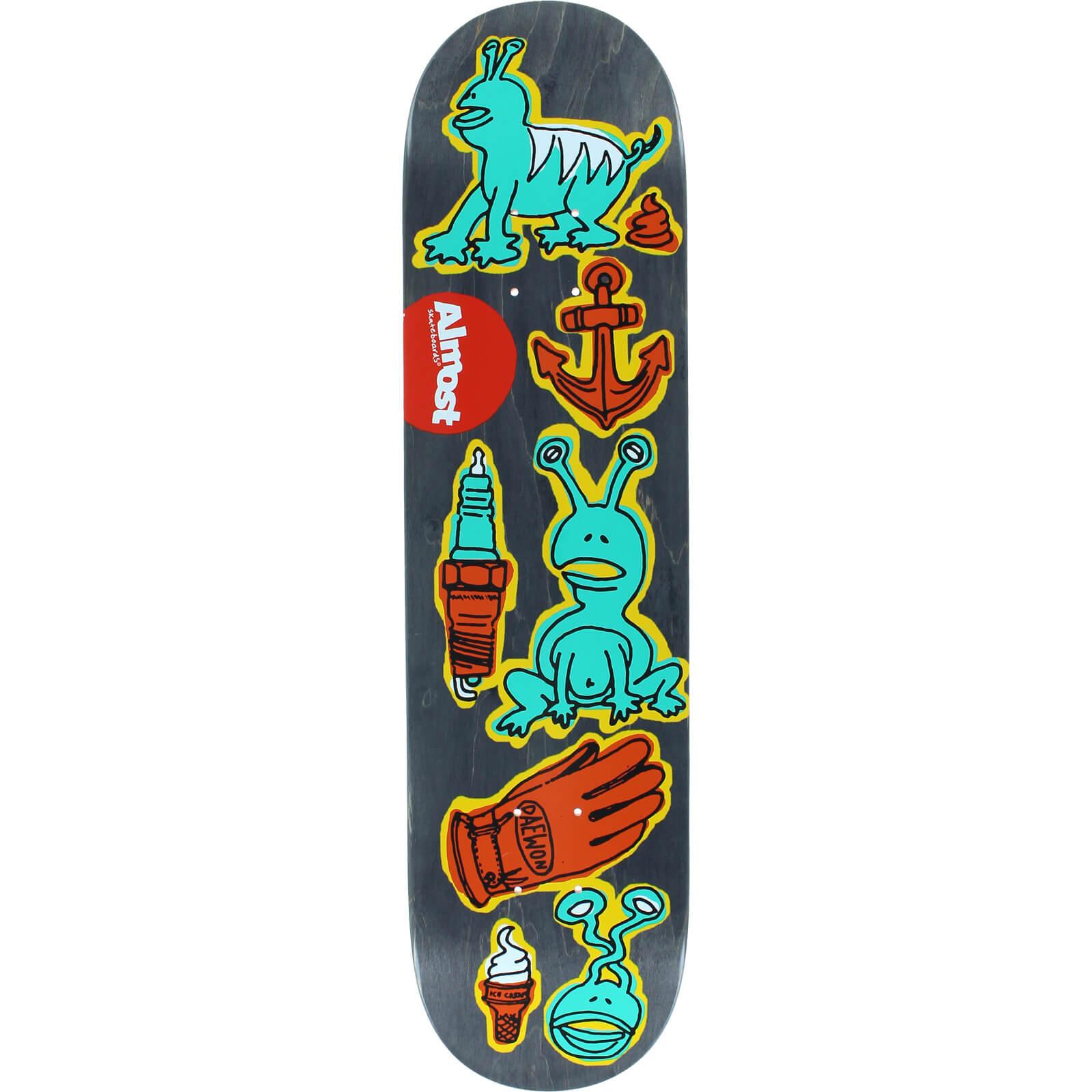 Almost Skateboards Dumb Doodle Deck