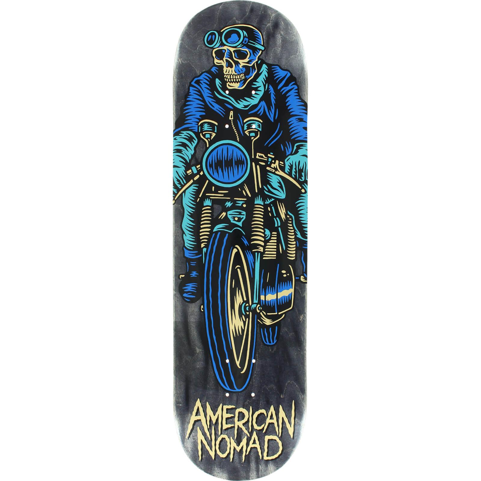 7a52e278916 American Nomad Skateboards Cafe Racer Black Skateboard Deck 8.5 x 32.5 Warehouse  Skateboards