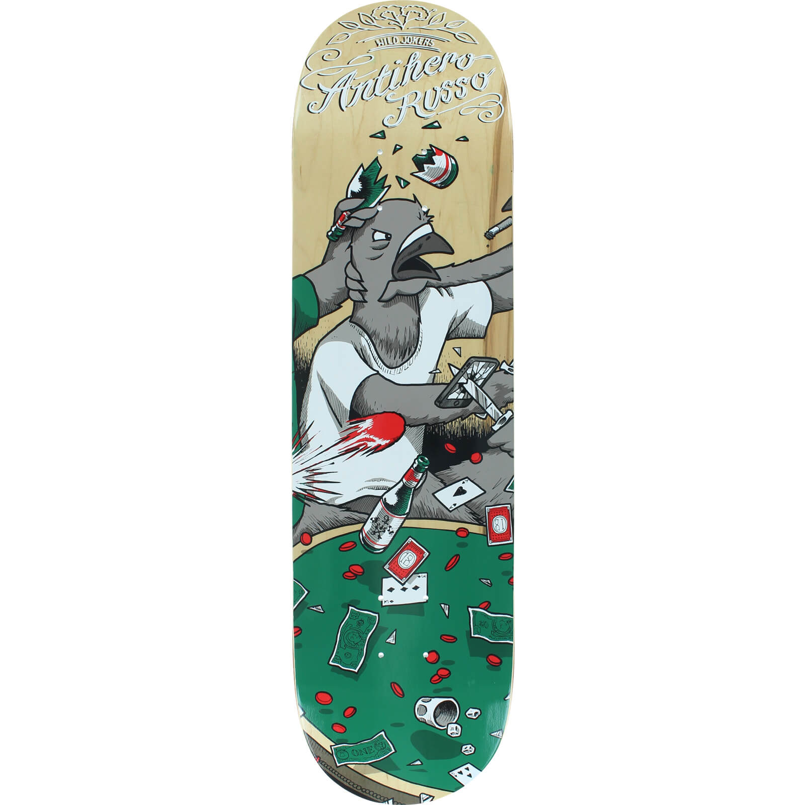 Anti Hero Skateboards Robbie Russo Wild Jokers Ii