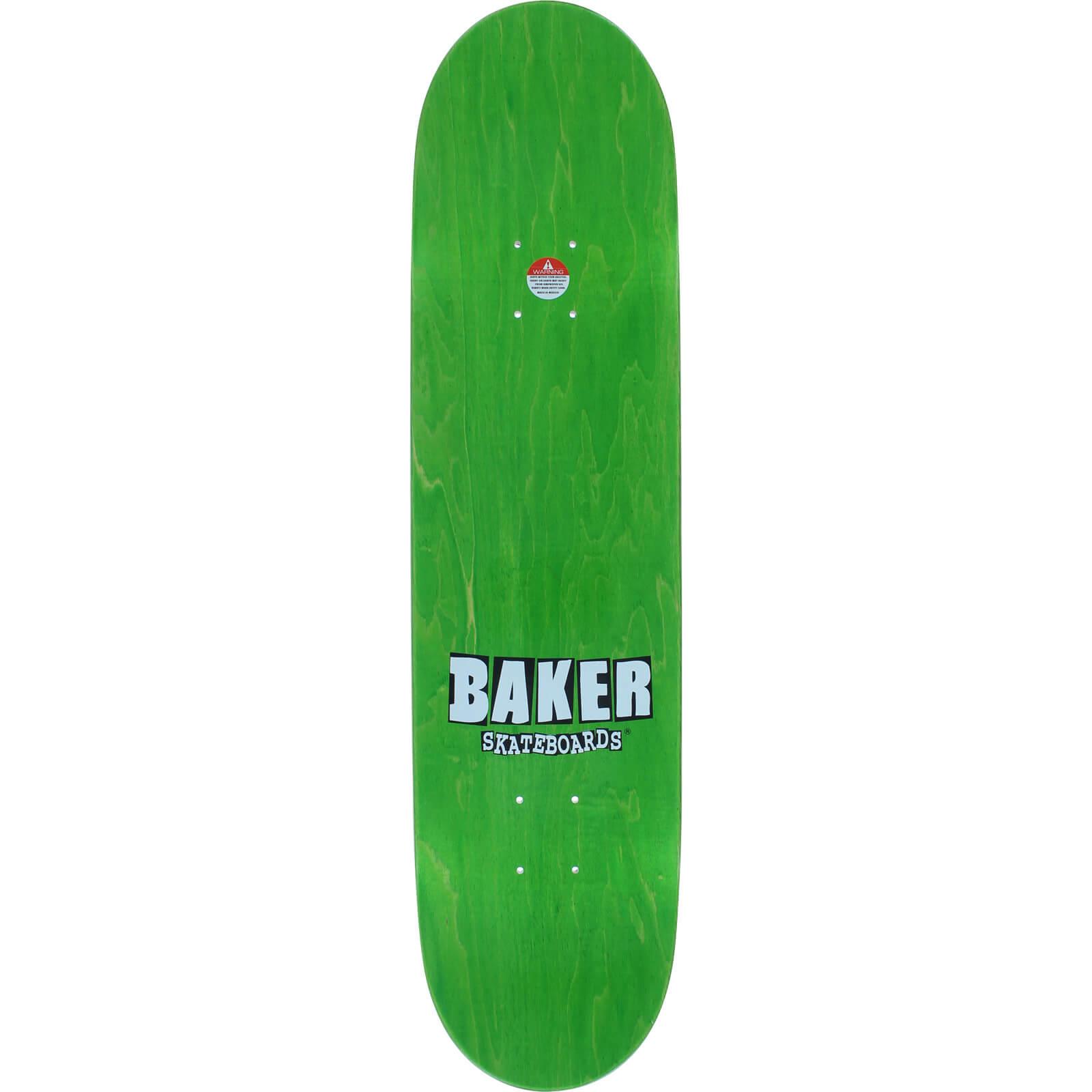 Baker Skateboards Dee Ostrander Brand Name Color Change