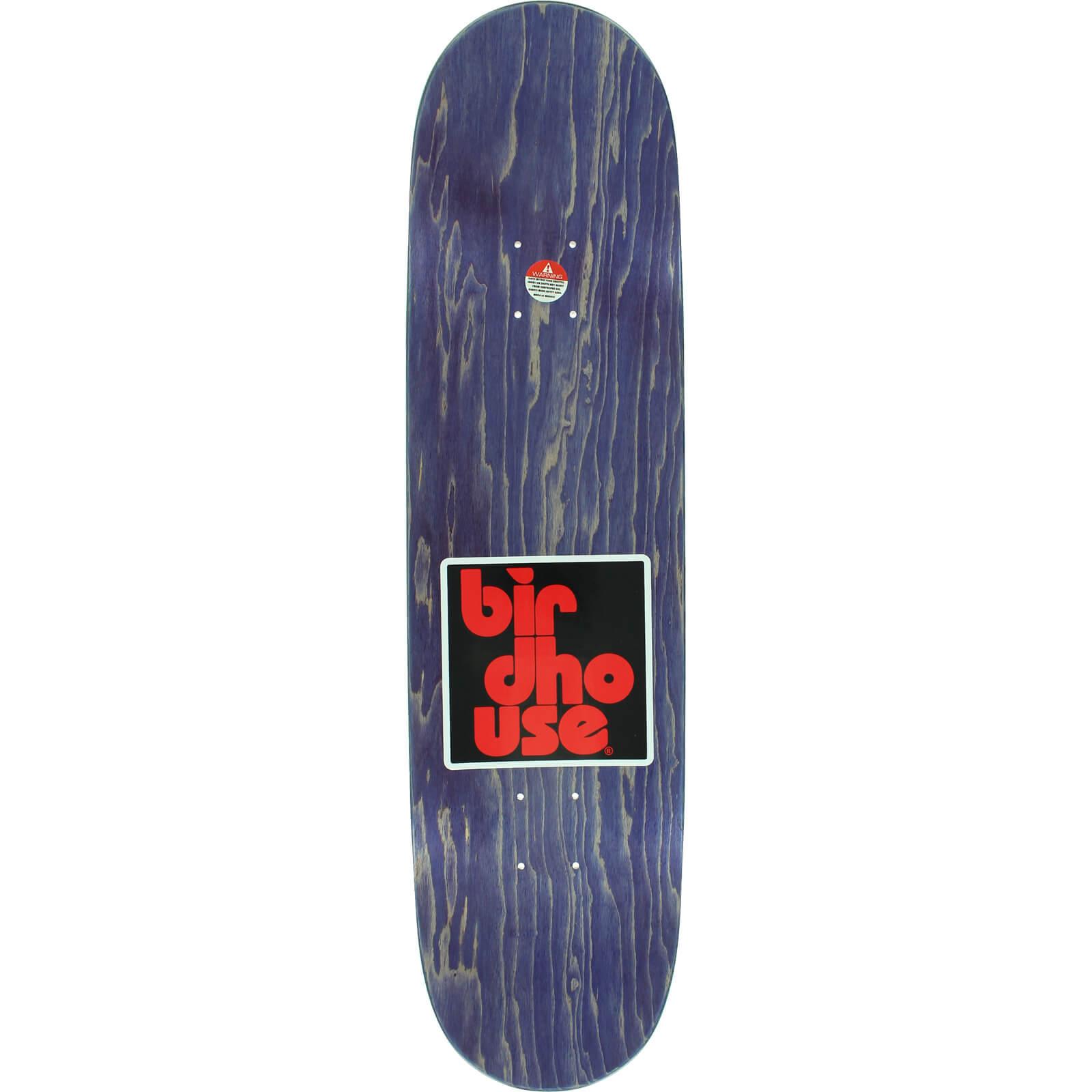 Birdhouse Skateboards Block Skateboard Deck 7 75 X 32