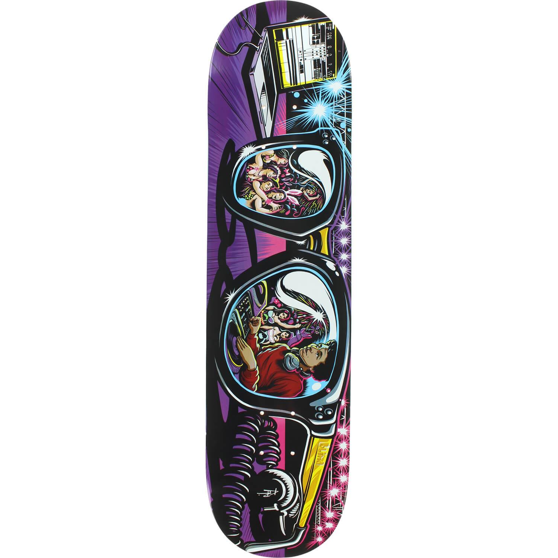 Blind skateboards kevin romar resin 7 shades skateboard for Best paint for skateboard decks