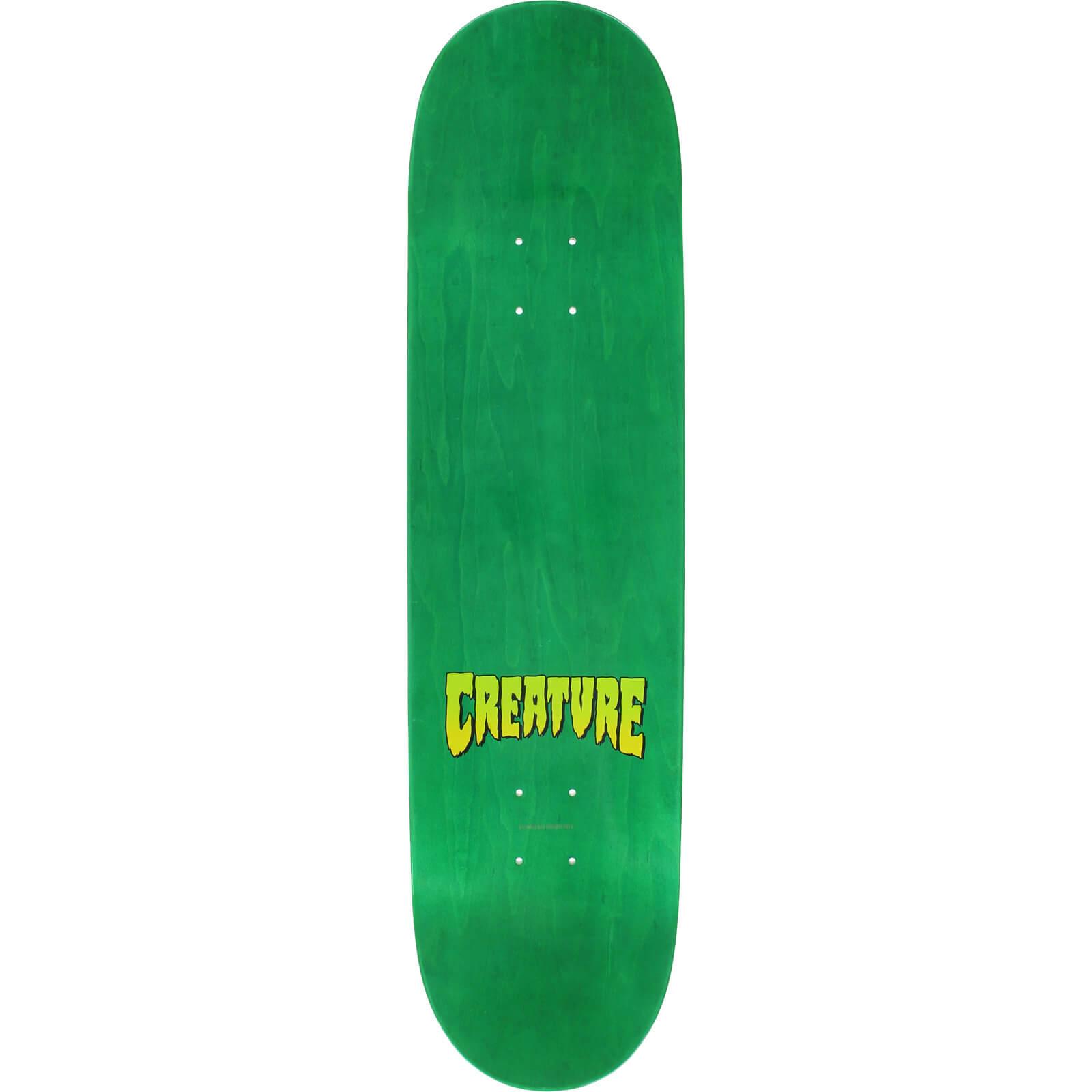 Creature Skateboards Sam Hitz Pro Logo Skateboard Deck 8