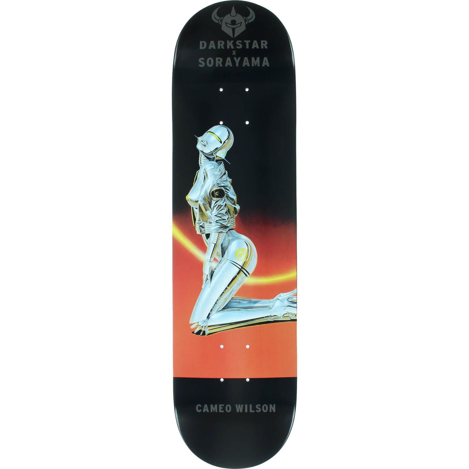 Darkstar Skateboards Cameo Wilson Resin 7 Sorayama