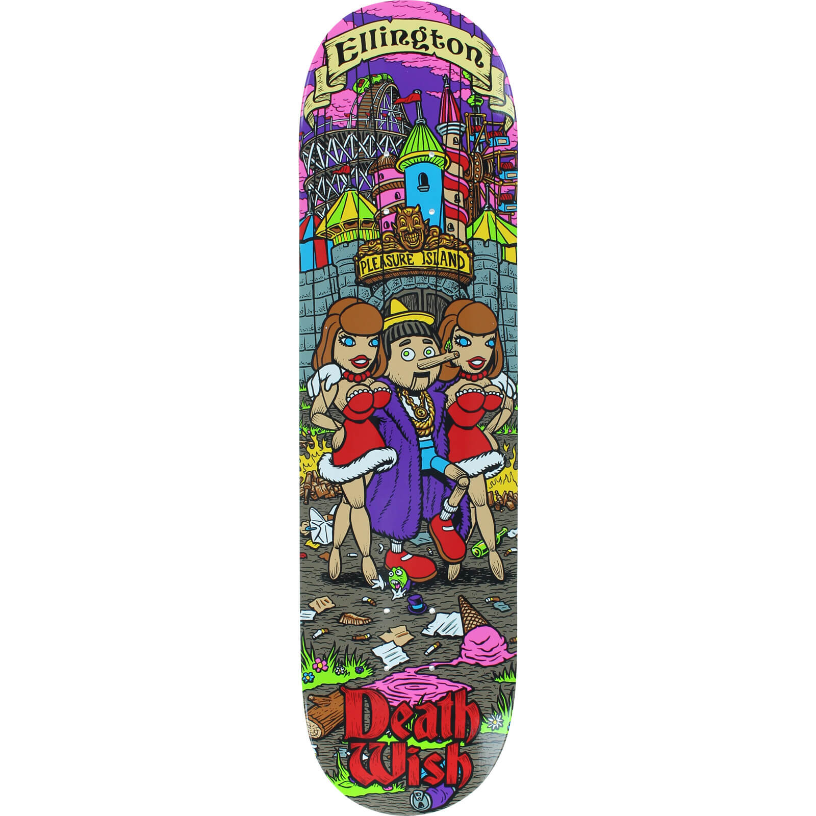 Deathwish Skateboards Erik Ellington Story Time Skateboard