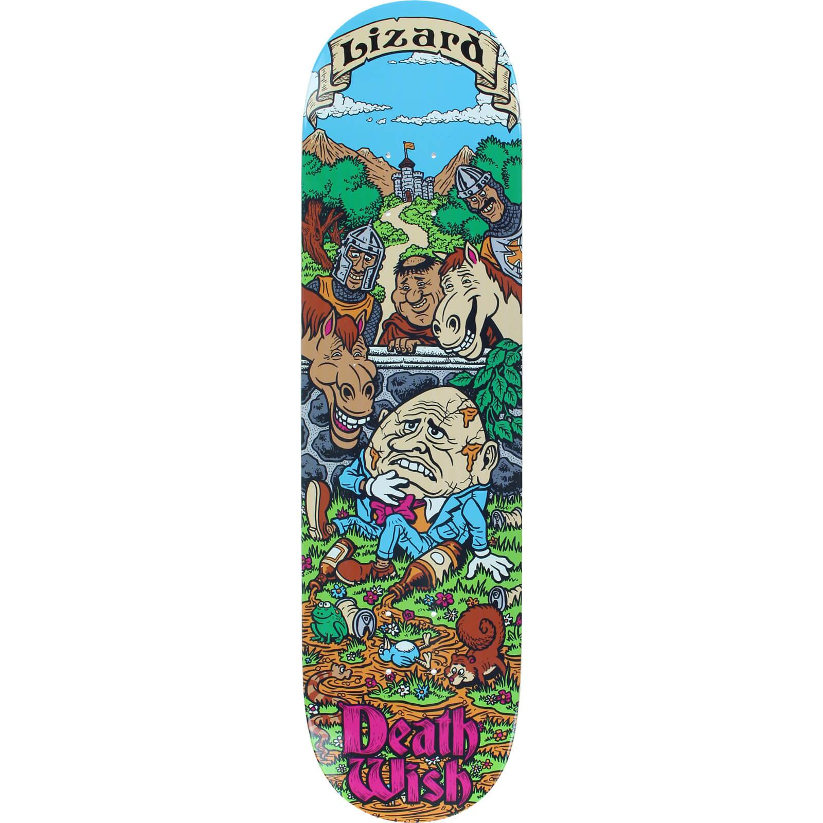 Deathwish Skateboards Lizard King Story Time Skateboard
