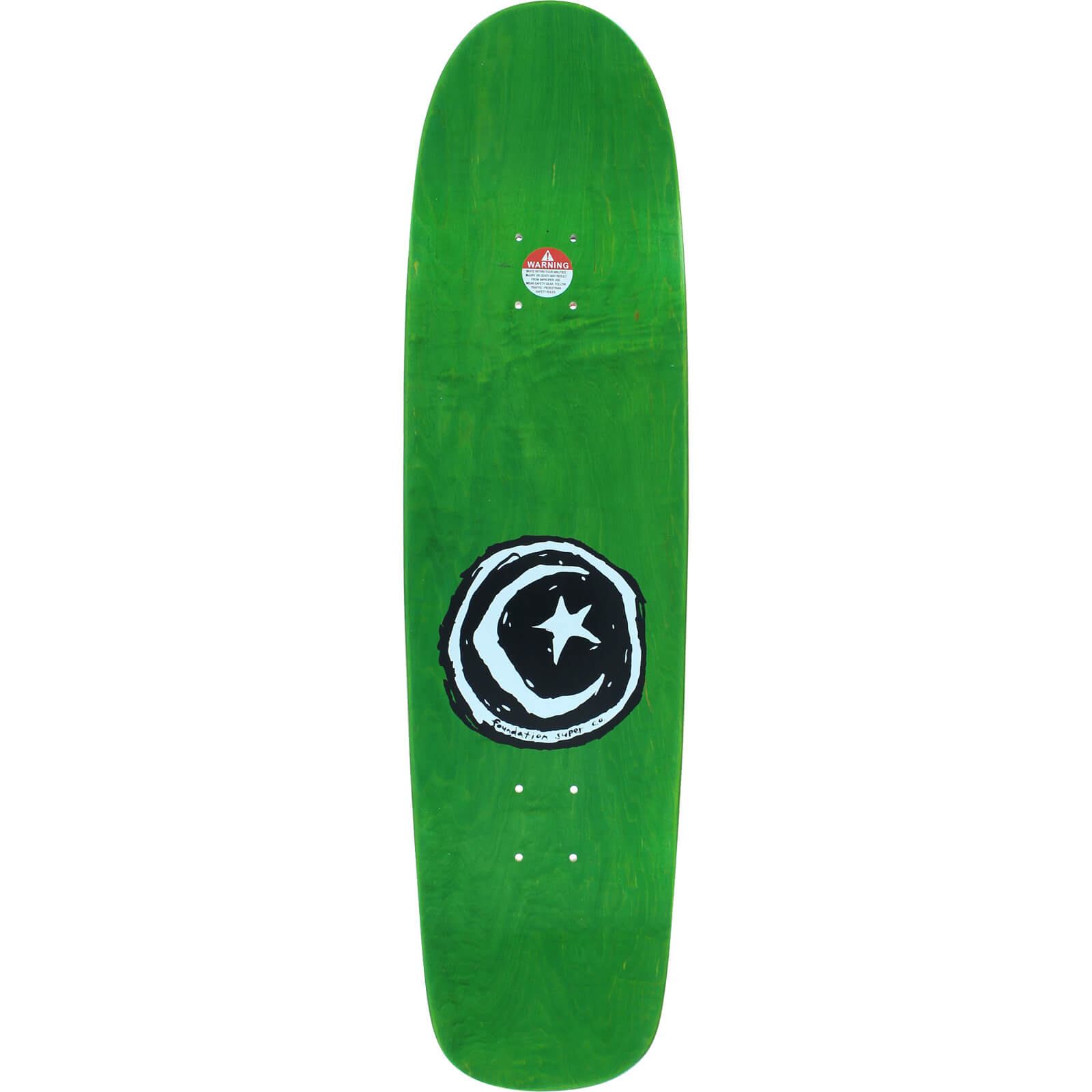Foundation Skateboards Super Co Black Skateboard Deck 8