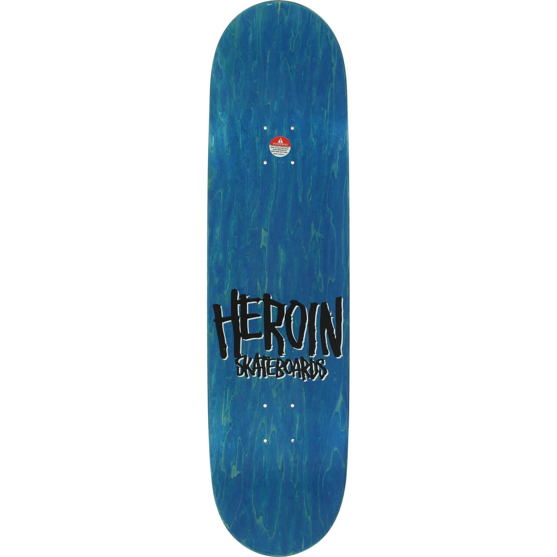 Heroin Skateboards Lee Yankou Maple Skateboard Deck 8 25