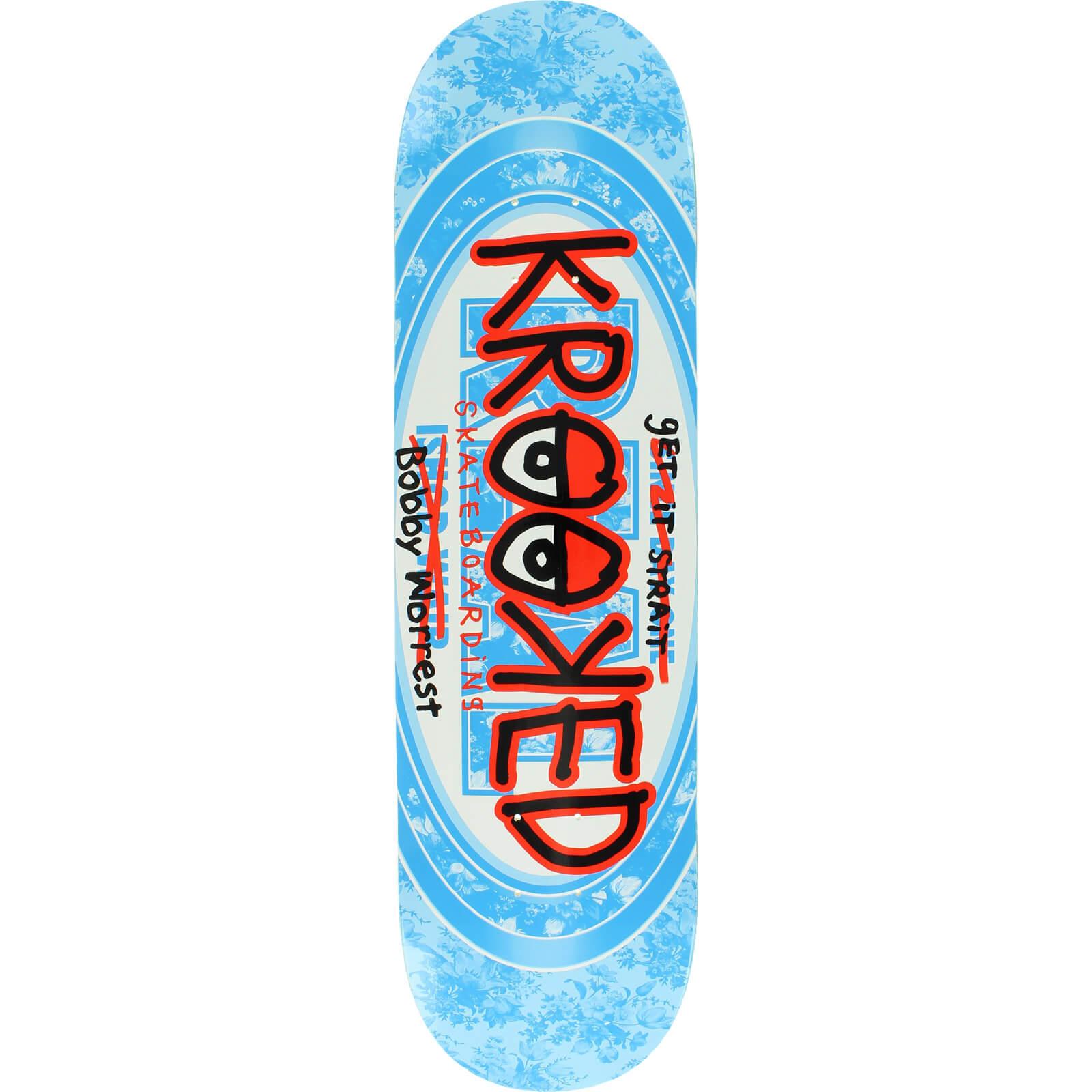 Krooked Skateboards Bobby Worrest Bobbywair Skateboard