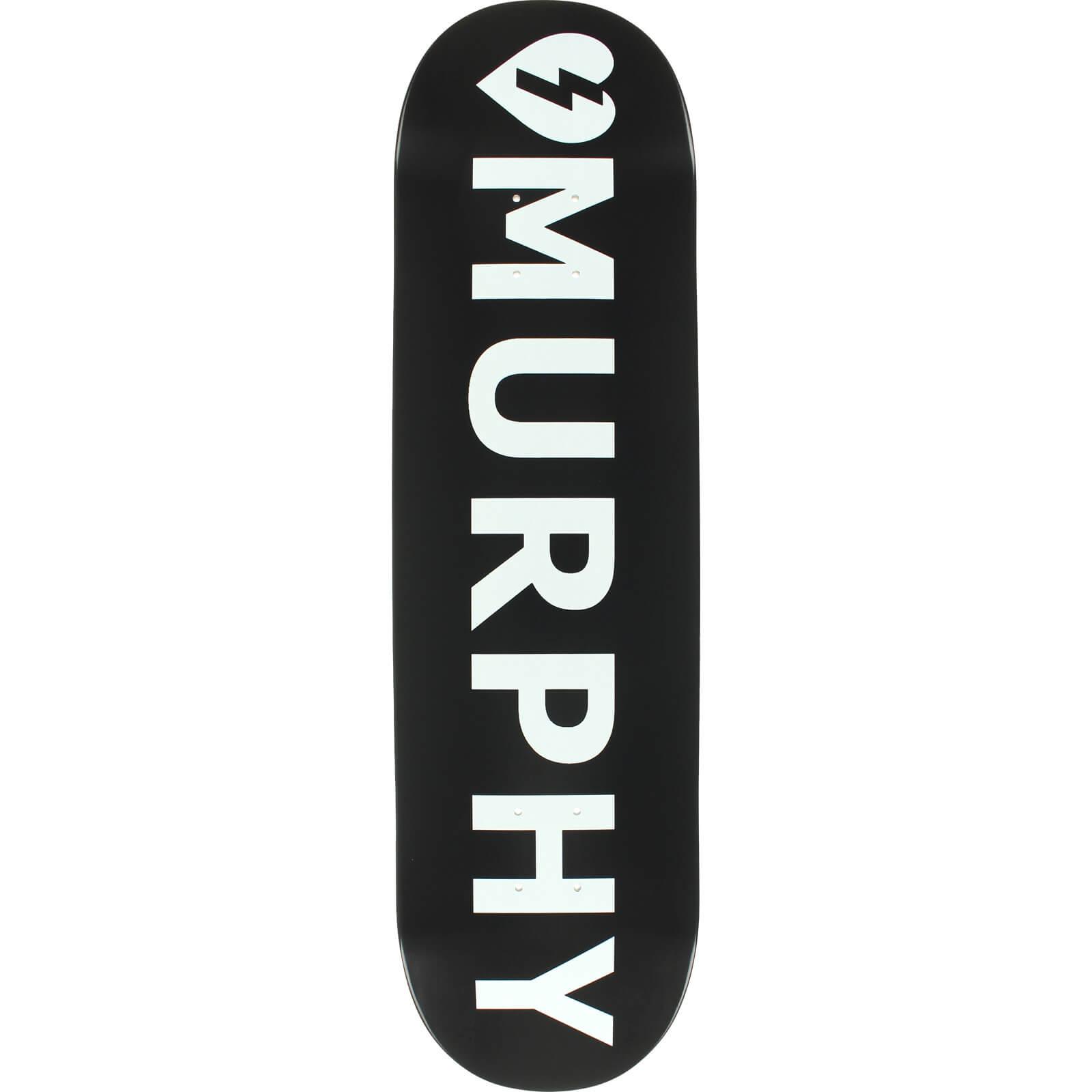 Mystery Skateboards Dan Murphy Logo Skateboard Deck - 8.5 ...  Mystery