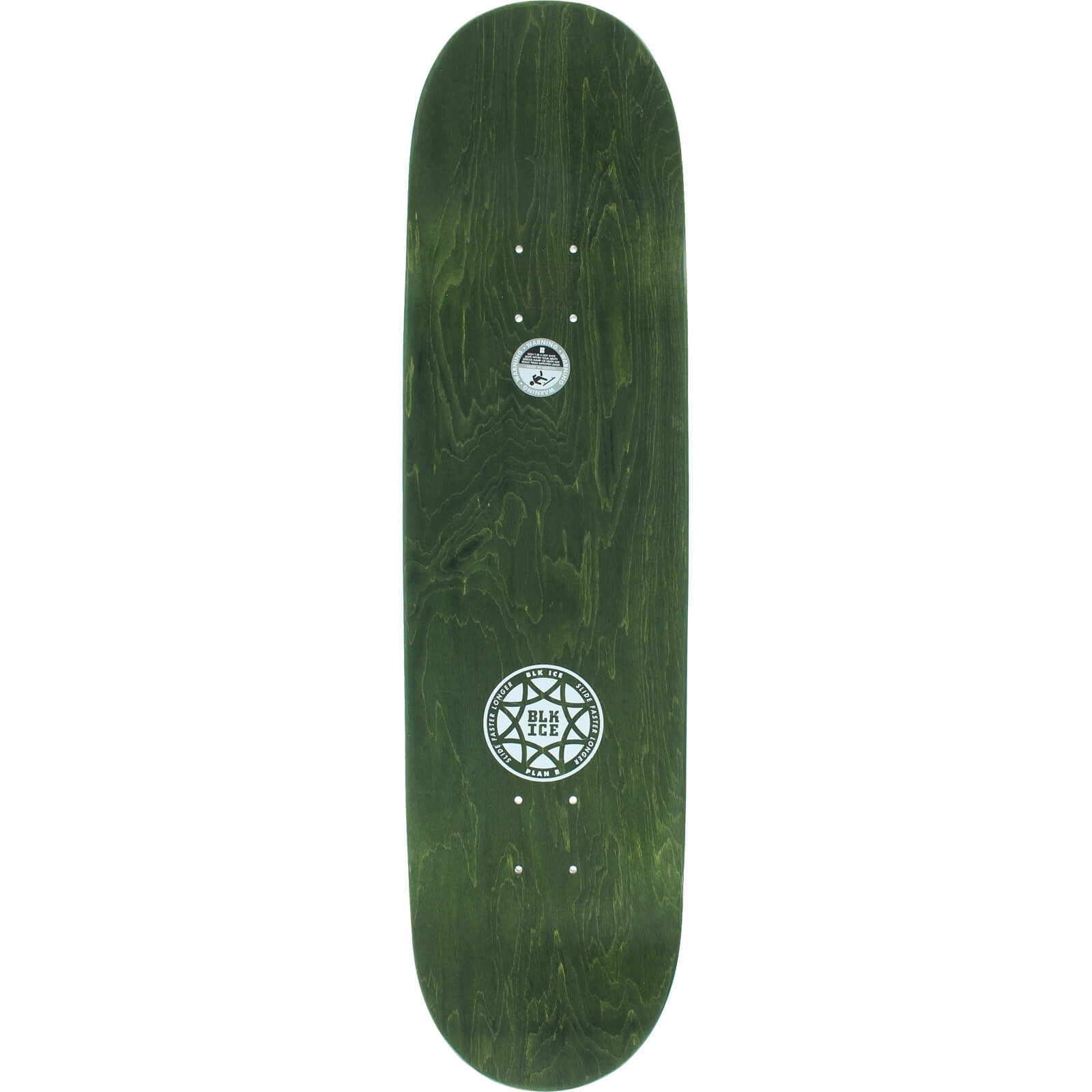 Plan B Skateboards Chris Cole Black Ice Fury Skateboard