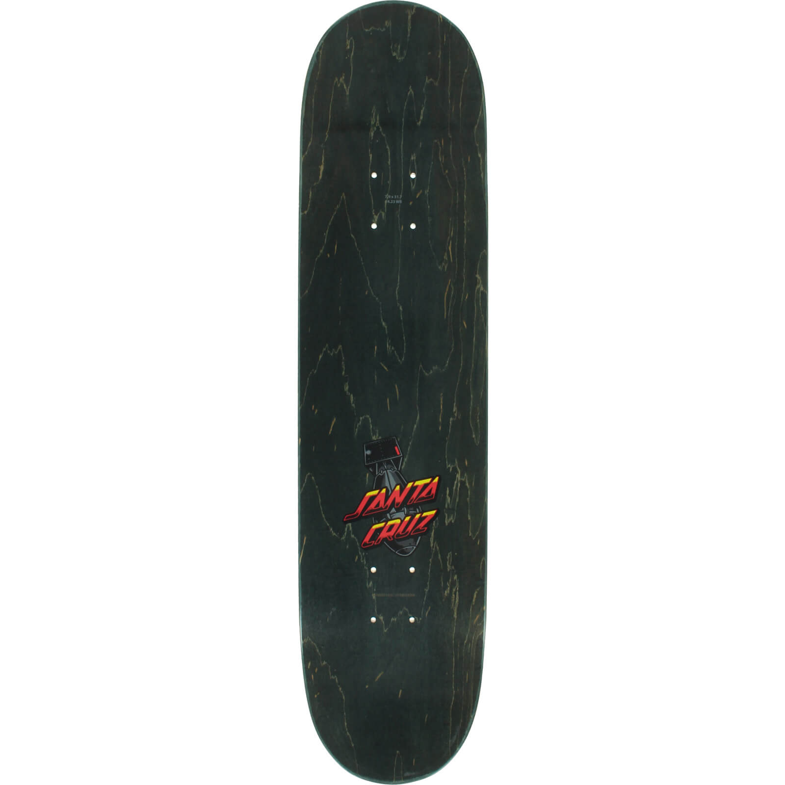 Santa Cruz Skateboards Armageddon Skateboard Deck 7 9 X