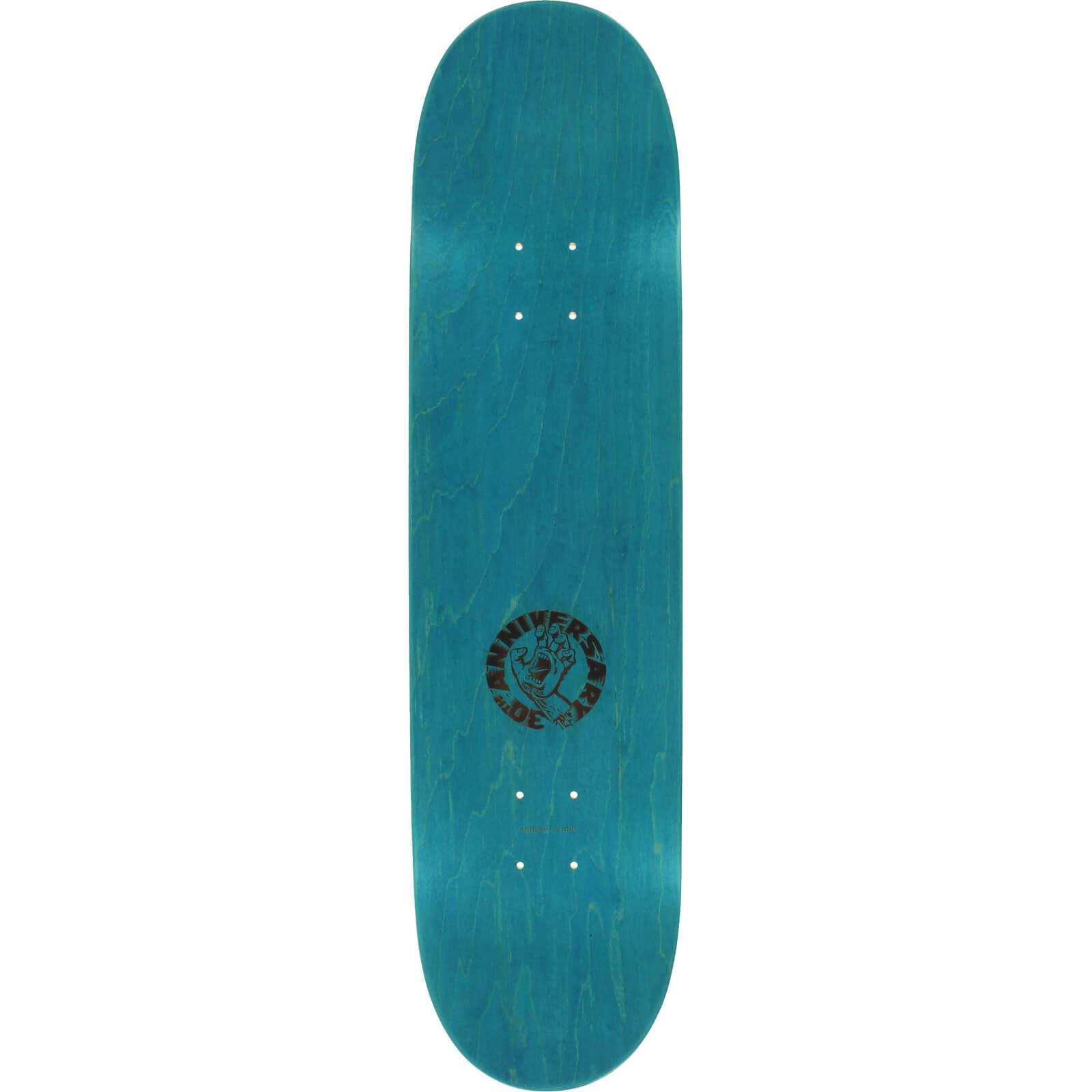 Santa Cruz Skateboards Cliver Hand Skateboard Deck 8 5 X