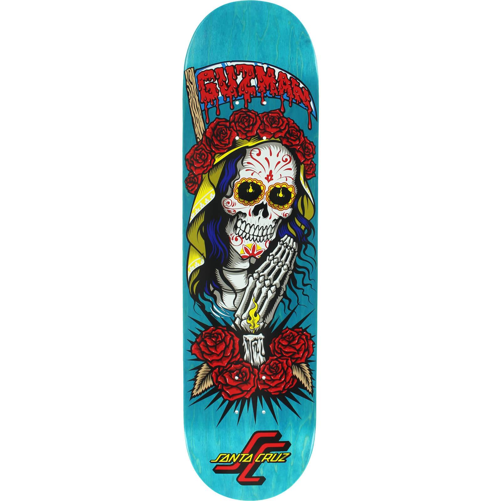 Santa Cruz Skateboards Emmanuel Guzman Muerte Skateboard