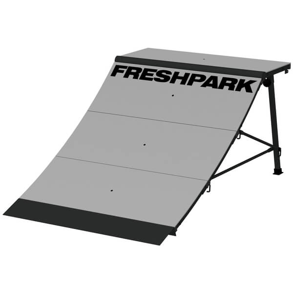 Freshpark 4 Foot Quarter Pipe Skateboard Ramp