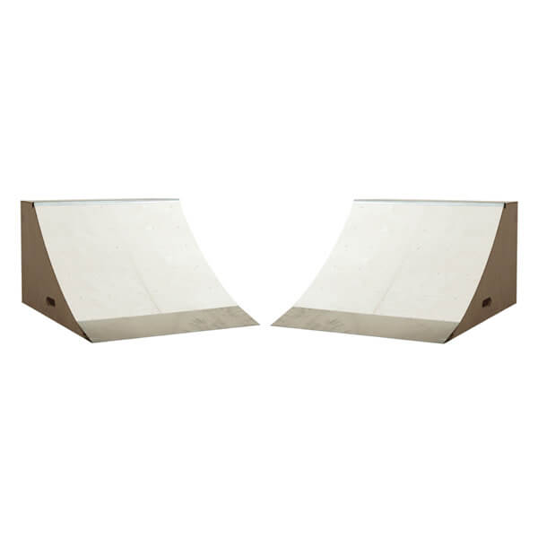 OC Ramps 3 Foot Wide Quarter Pipe Ramps - Includes (2) Two Quarter Pipe Ramps