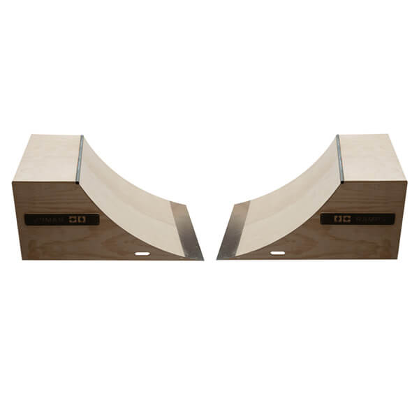OC Ramps 4 Foot Wide Quarter Pipe Ramps - Includes (2) Two Quarter Pipe Ramps