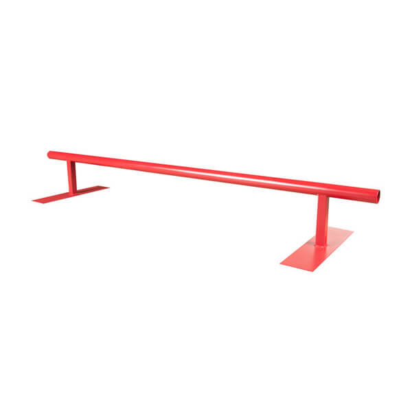 OC Ramps 8 Foot Round Skateboard Grind Rail