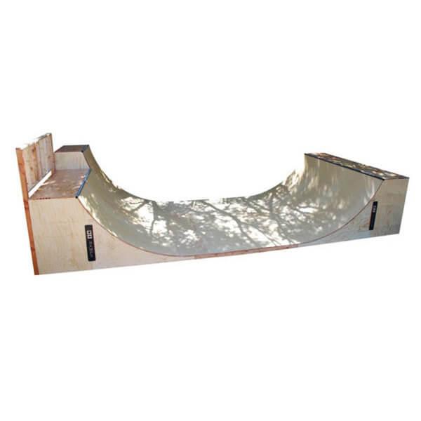 OC Ramps 5 Foot Tall X 12 Foot Wide Halfpipe Skateboard Ramp