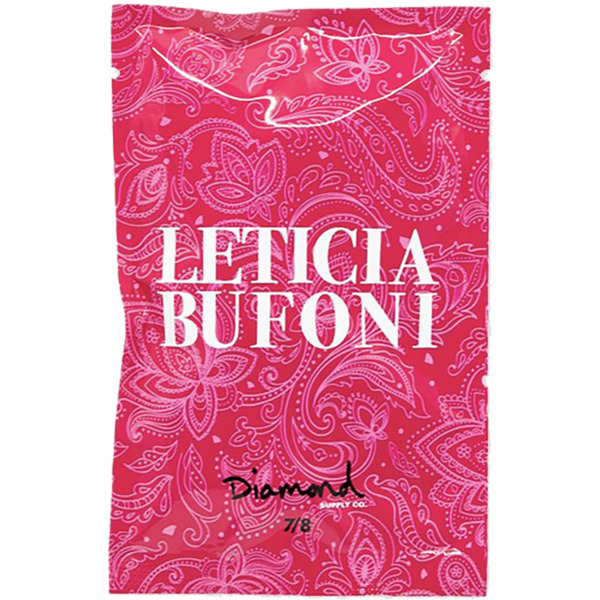"Diamond Supply Co Leticia Bufoni Allen Head Black / Pink Skateboard Hardware Set - 7/8"""