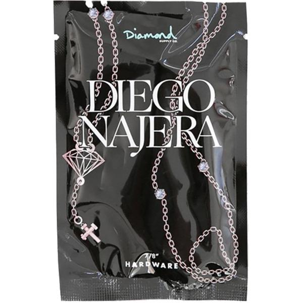 "Diamond Supply Co Diego Najera Allen Head Rose Gold Skateboard Hardware Set - 7/8"""