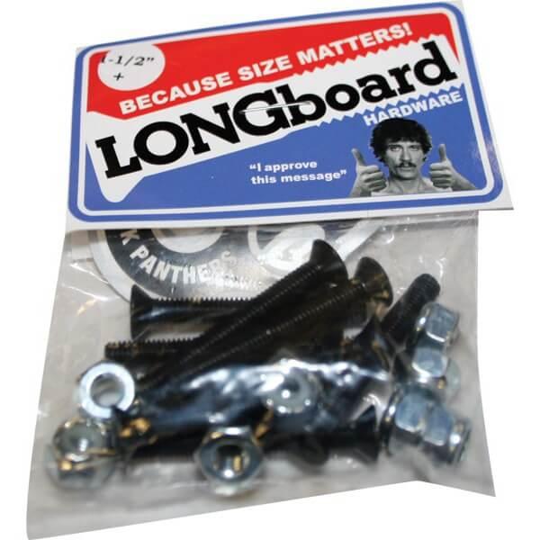 """Shortys Skateboards Phillips Head Longboard Skateboard Hardware Set - 1 1/2"""""""
