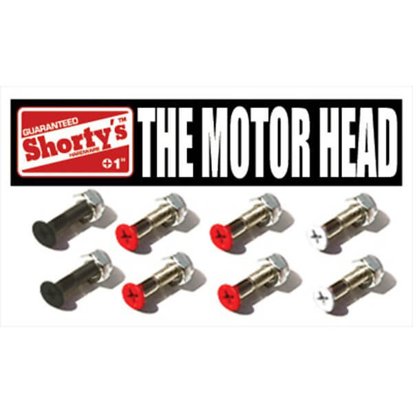 Shortys Skateboards Motorhead Skateboard Hardware Set - 1""