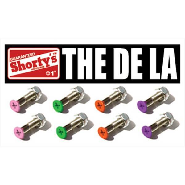 """Shortys Skateboards De La Skateboard Hardware Set - 1"""""""