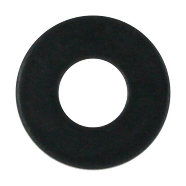 Standard Hardware Single Flat Black Washer