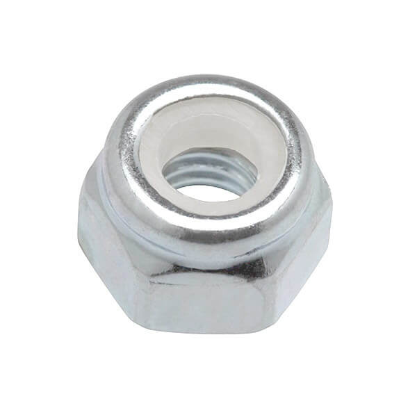 Standard Hardware Truck Mounting 10-32 Silver Single Lock Nut