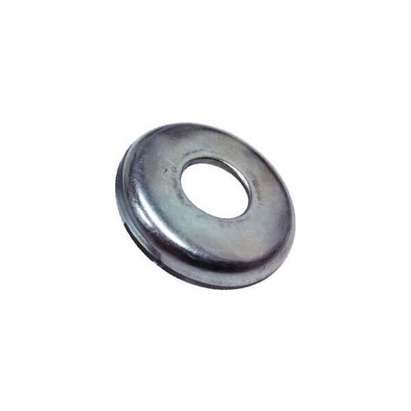 "Standard Hardware Bottom Bushing 3/8"" X 1-1/8"" Silver Washer - 1 1/8"" x 3/8"""