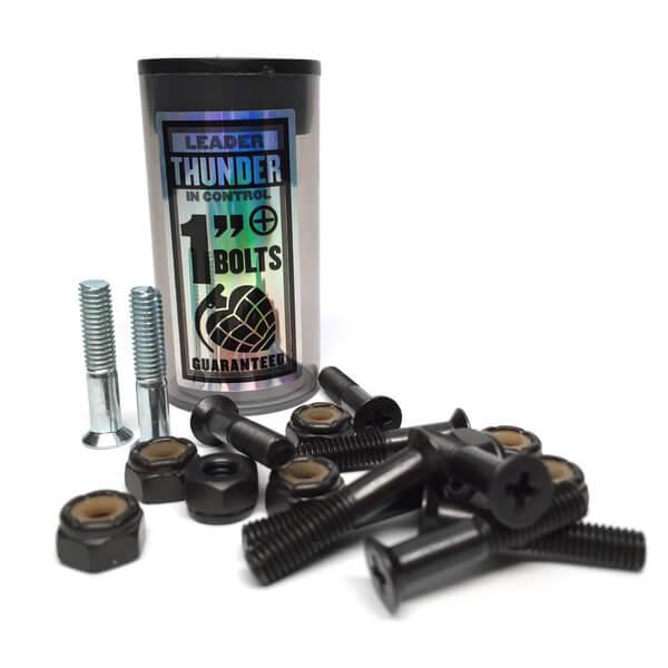 """Thunder Trucks Phillips Head Silver Skateboard Hardware Set - 1"""""""