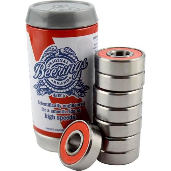 Beerings 8mm OG ABEC 5 Skateboard Bearings