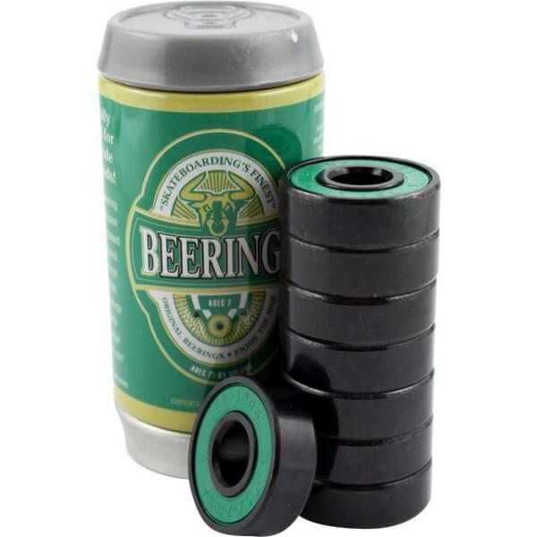 Beerings 8mm Malt ABEC 7 Skateboard Bearings
