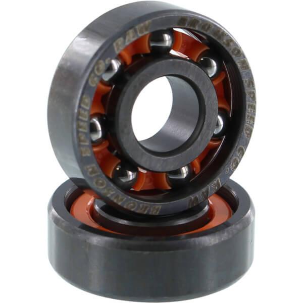 Bronson Speed Co Raw Skateboard Bearings