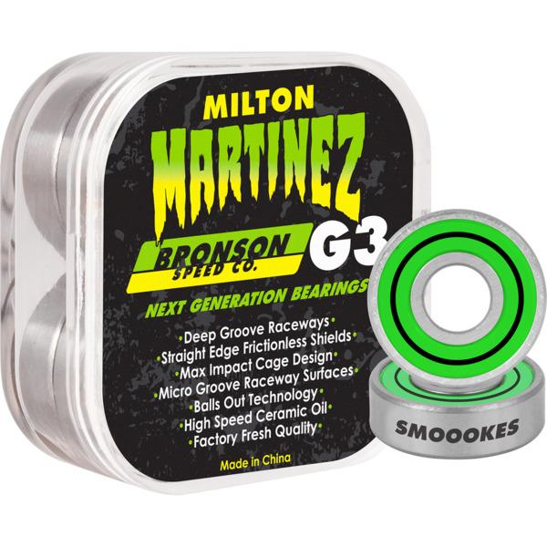 Bronson Speed Co Milton Martinez G3 Skateboard Bearings
